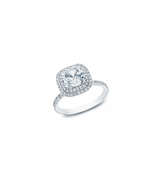 Auriya Diamond Double Halo Engagement Ring