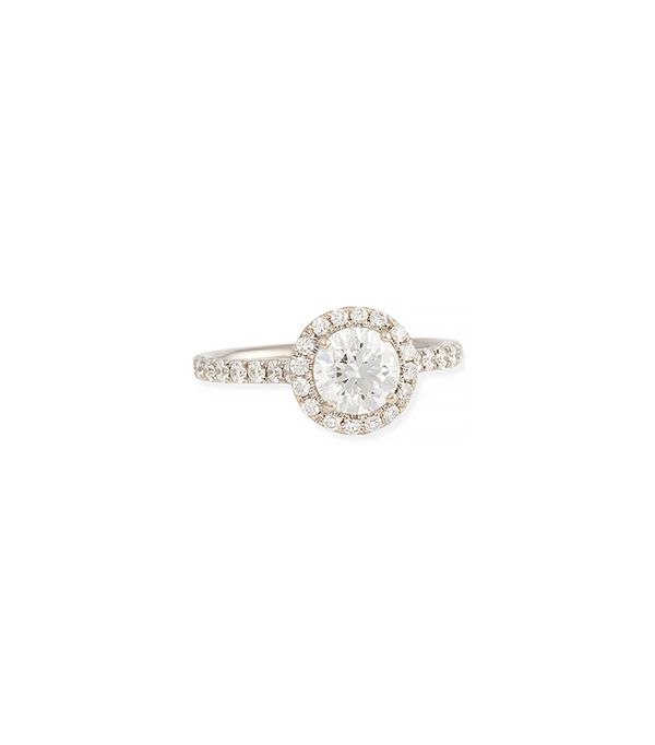 Forevermark White Gold Center of My Universe Solitaire Diamond Ring
