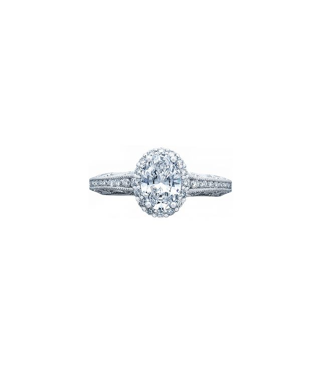 Tacori Reverse Crescent in Platinum