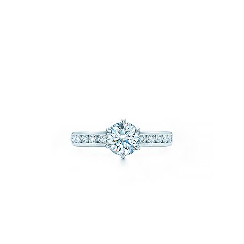 The Tiffany Setting With Diamond Band