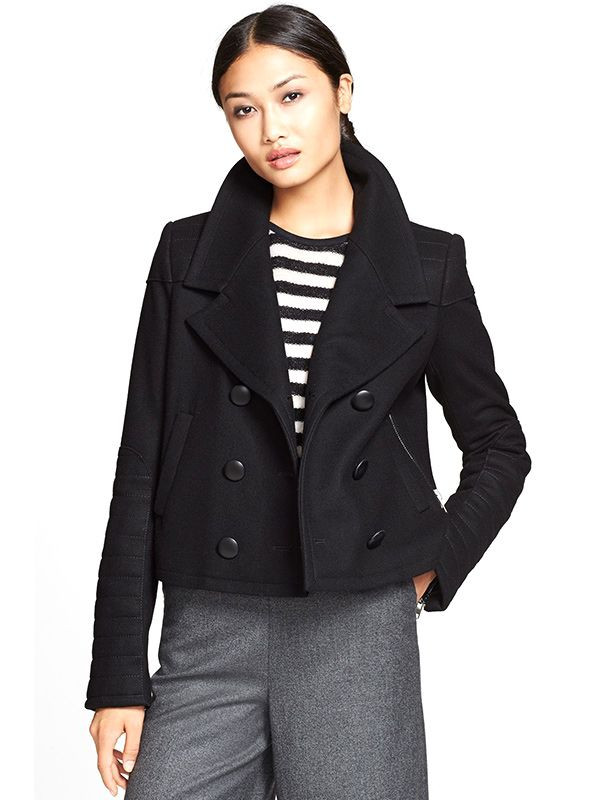 Rachel Zoe Claude Double Breasted Coat