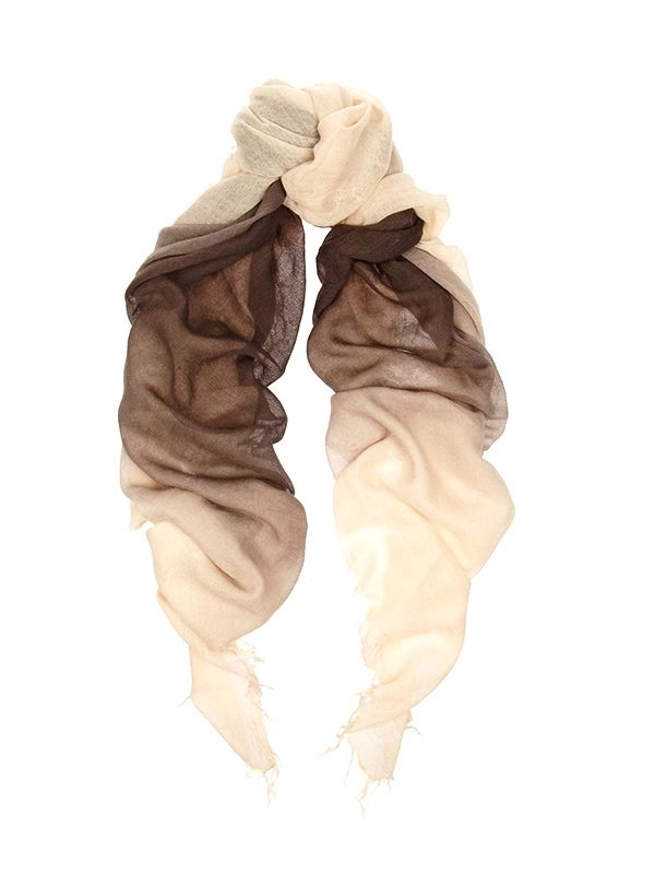 Chan Luu Ombre Cashmere and Silk-Blend Scarf
