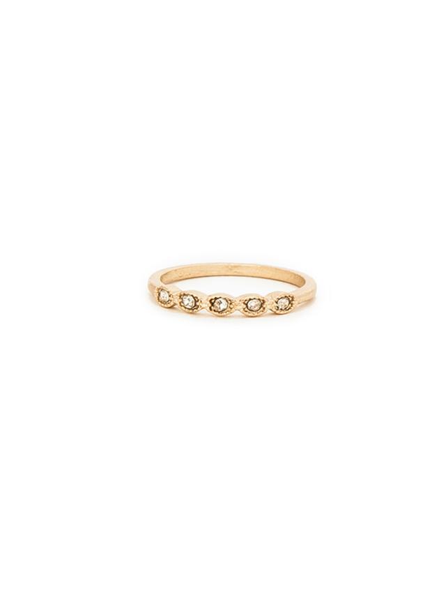 DAILYLOOK Multi Stone Midi Ring