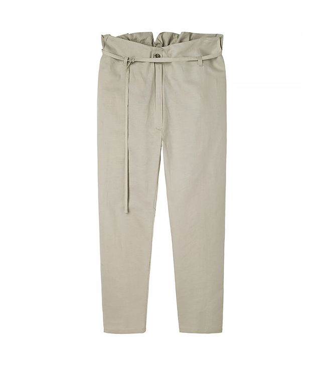 BASE Range Cropped Linen Pant