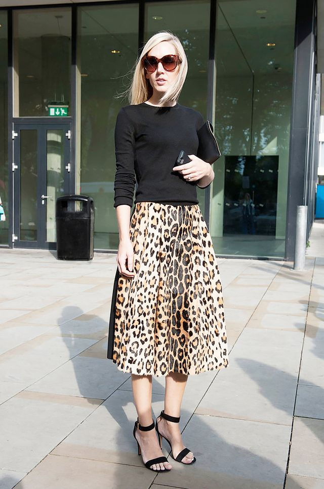 Tip: Liven up your look with a strategic leopard-print piece.