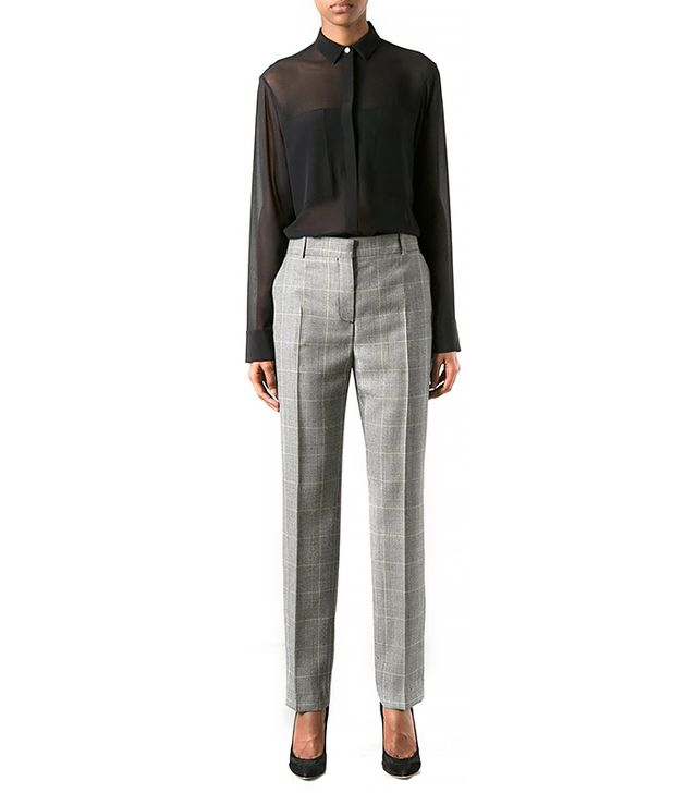 Mcq by Alexander McQueen Checked Suit Trousers