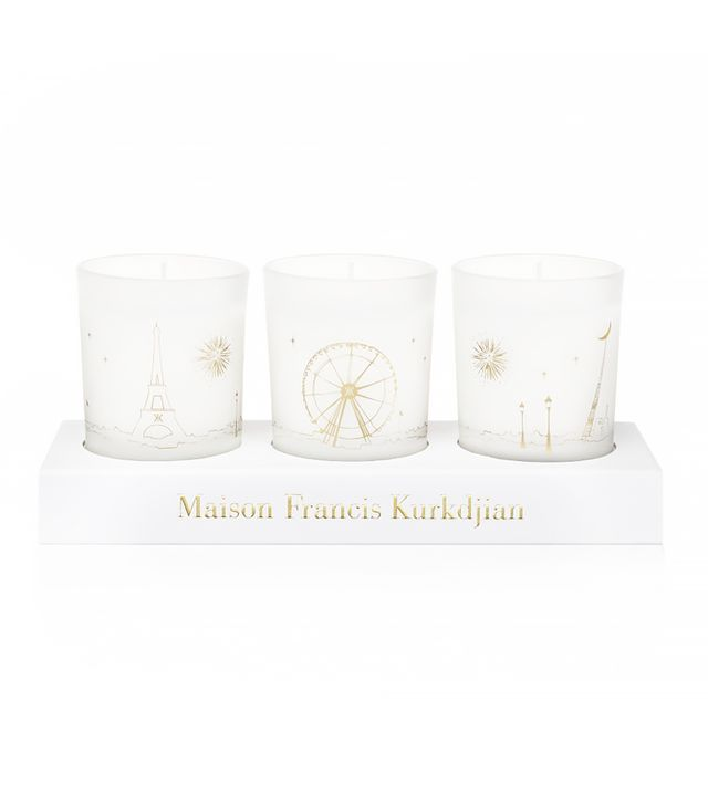Mason Francis Kurkdjian Three Scented Candles Set