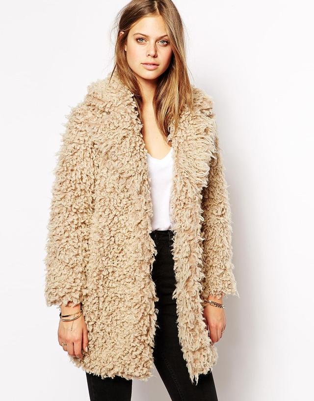 Supertrash Odyssey Coat in Fluffy Faux Fur
