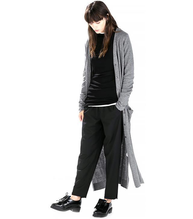 Zara Long Cardigan with Pockets and Slits