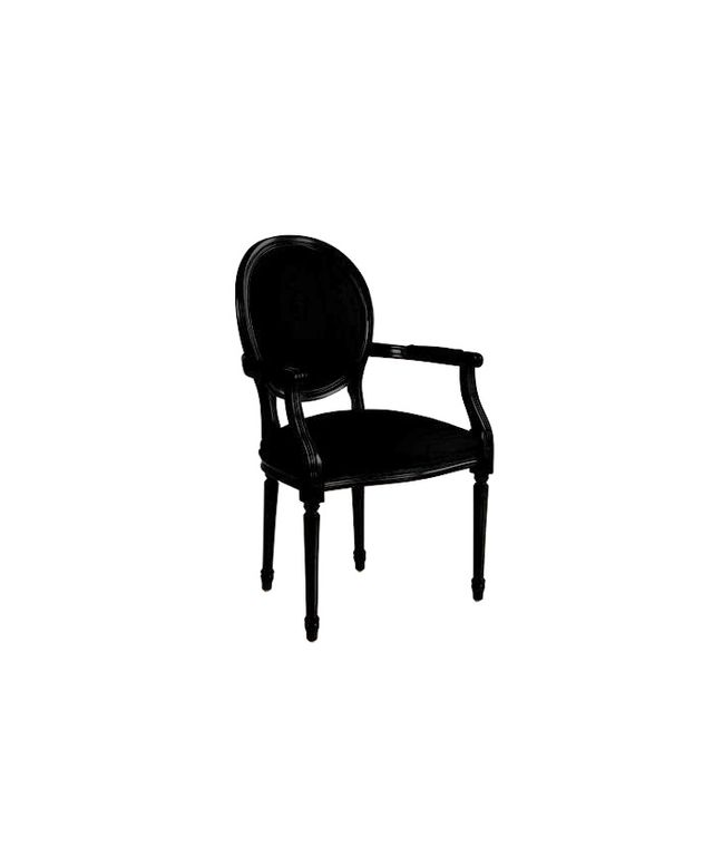 Ballard Designs Oval Louis XVI Back Armchair