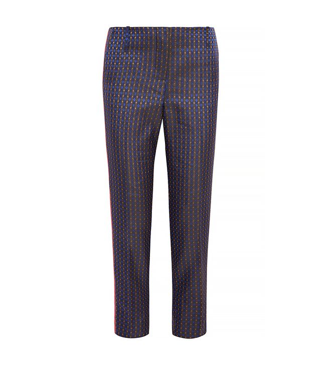 Elizabeth and James Jacquard Straight-Leg Pants