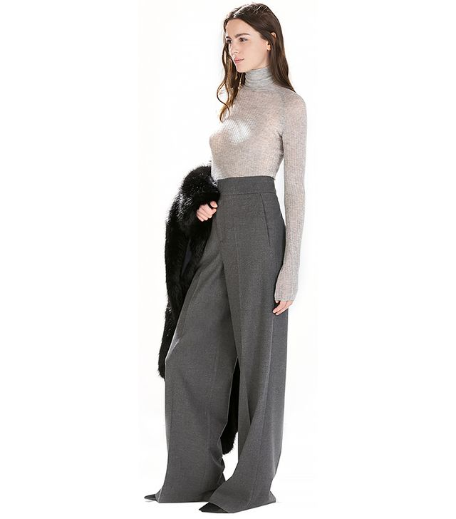 Zara Studio High Waist Trousers