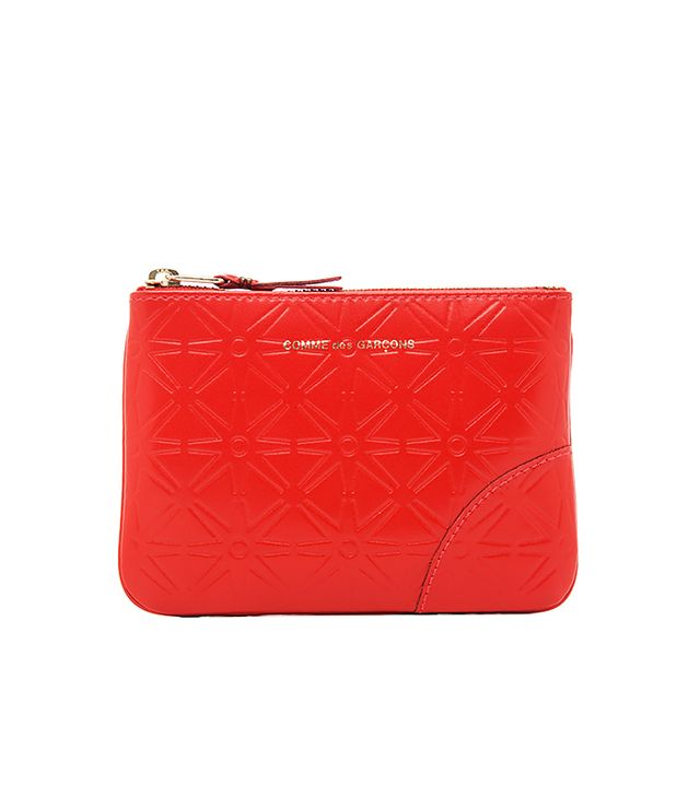 Comme des Garçons Star Embossed Small Pouch