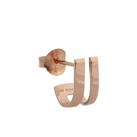 Mondrian Rose Gold-Plated Earrings