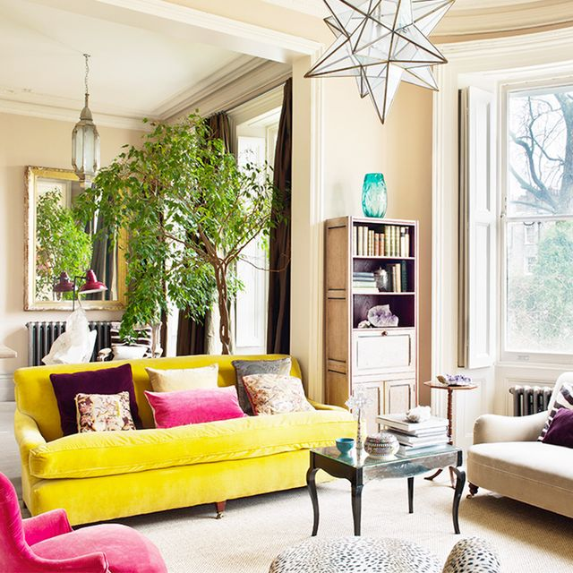 Check Out This London Townhouse with Eclectic, Feminine Style