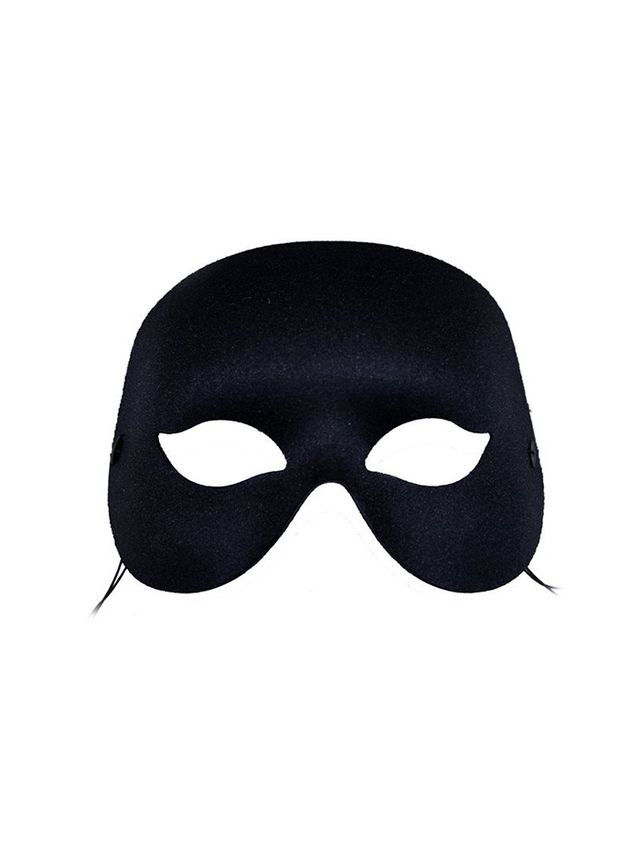 Nocturne Black Masquerade Mask