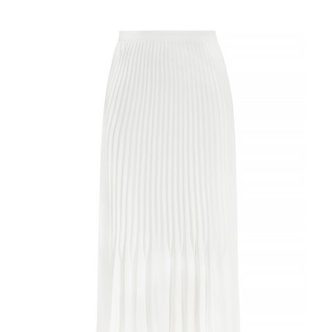 Baltimore Pleated Midi Skirt