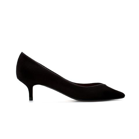 Kitten Heel Court Shoe