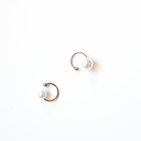 Thpshop Pearl Ear Cuffs Set