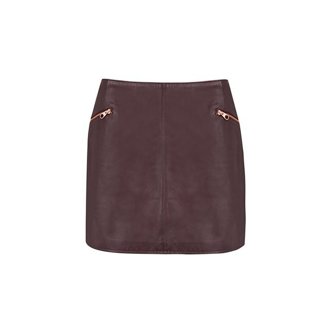Ted Baker Gumley Leather Skirt