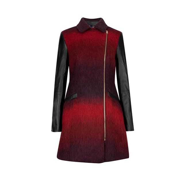 Ted Baker Annamae Double Breasted Wool Coat