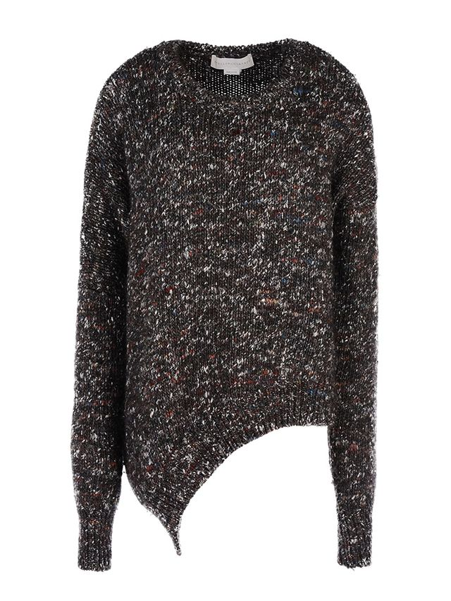 Stella McCartney Chunky Knit Asymmetric Jumper