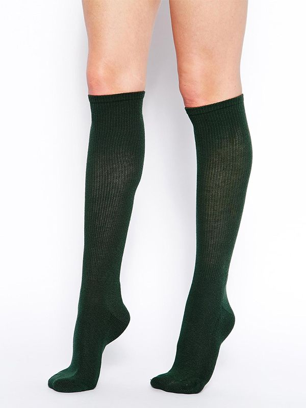 American Apparel Knee High Socks