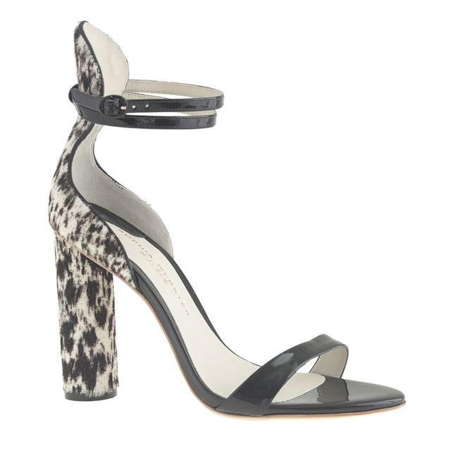 Sophia Webster Nicole Calf Hair Heels