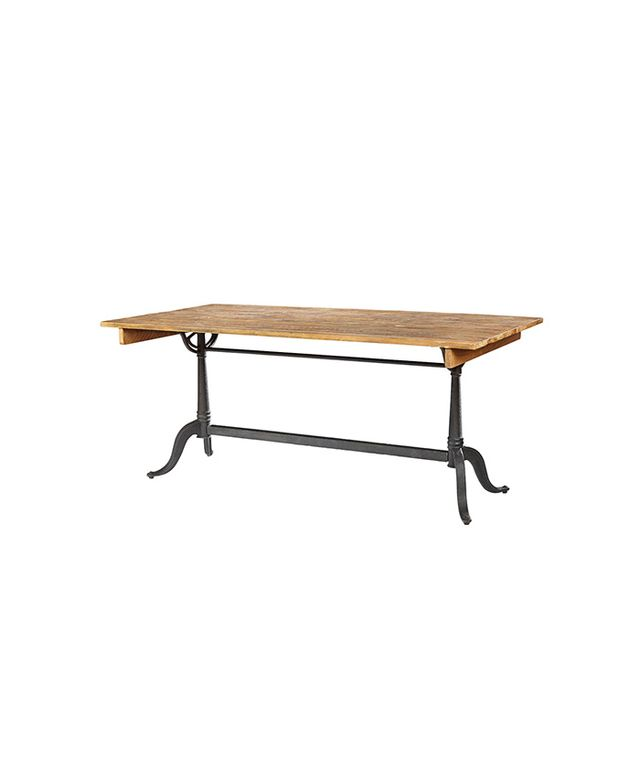 Rejuvenation Parisian Bleached Pine Dining Table