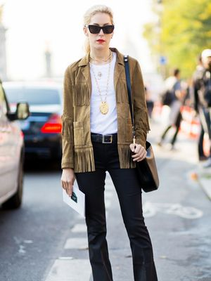 Tip of the Day: A Fashion Editor-Approved Way to Wear Fringe