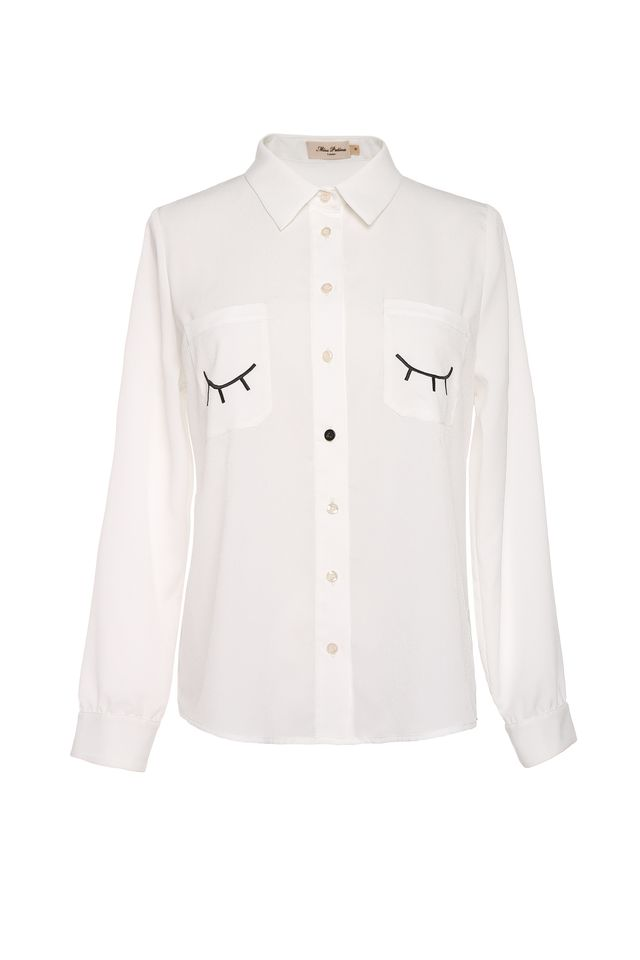 Miss Patina Flitter Flutter Shirt