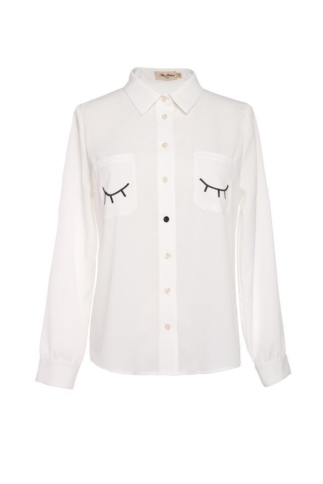 Miss Patina Flitter Flutter Shirt
