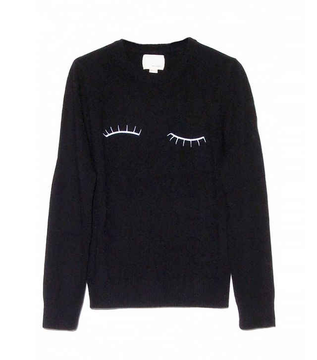 Band of Outsiders Embroidered Wool Sweater