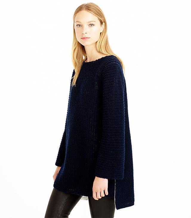 J. Crew Bonded Merino Sweater