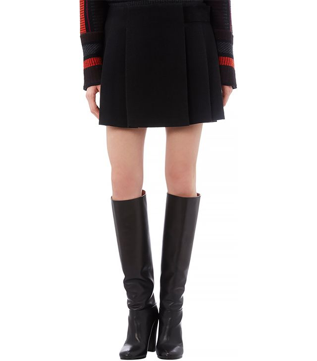 Proenza Schouler Jersey Pleated Mini Skirt