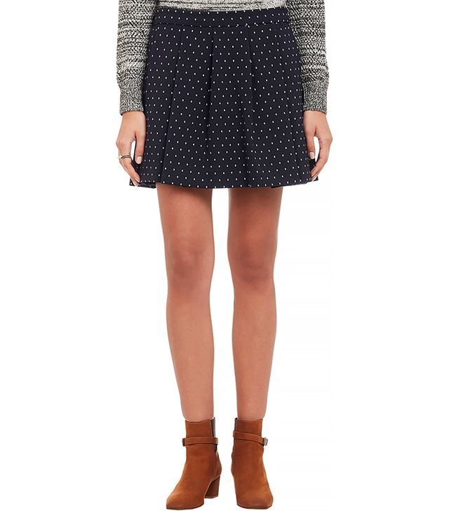 Thakoon Addition Pleat Mini Skirt