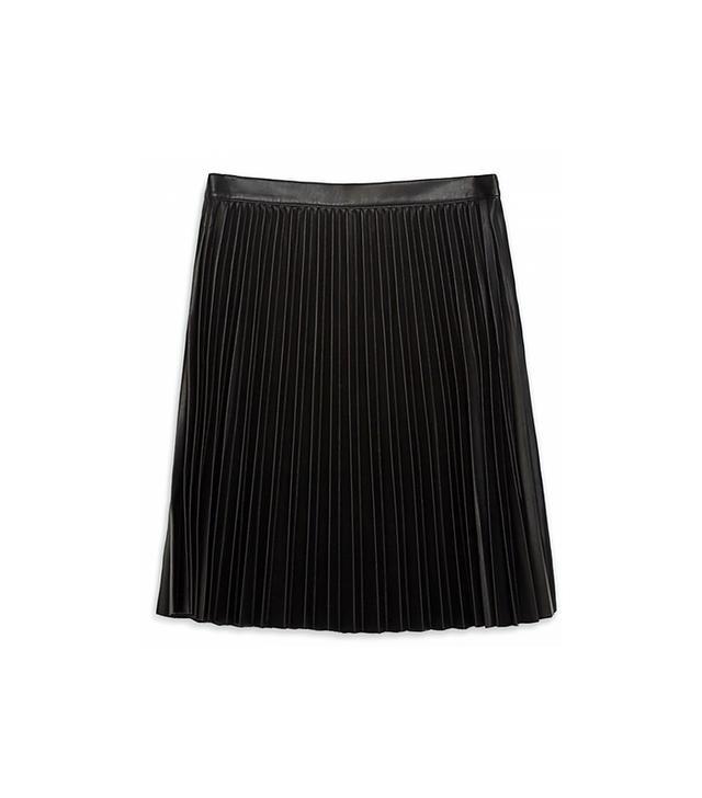 Zara Pleated Short Skirt