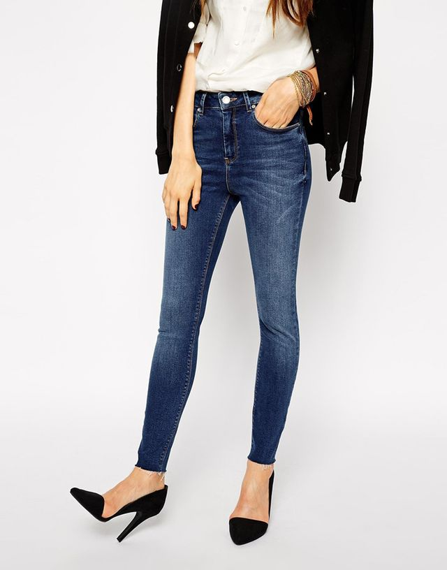 Asos Ridley Skinny Ankle Grazer Jeans