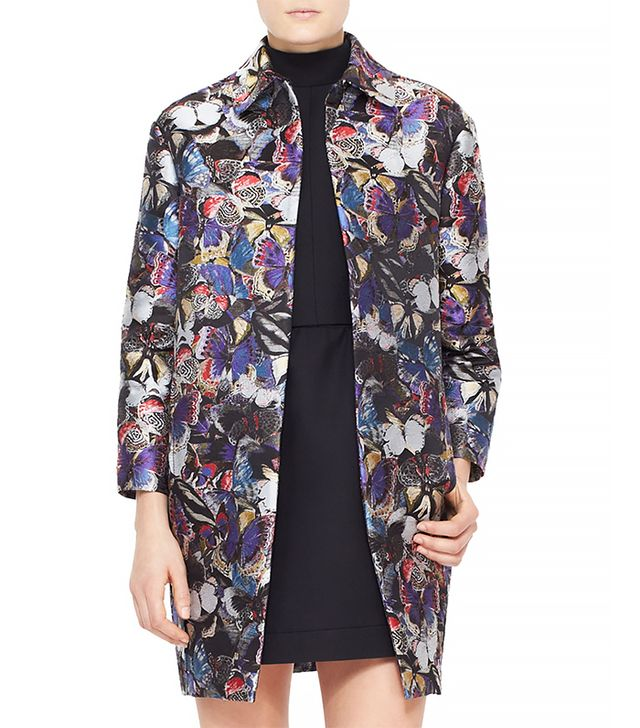 Valentino Butterfly Brocade Coat