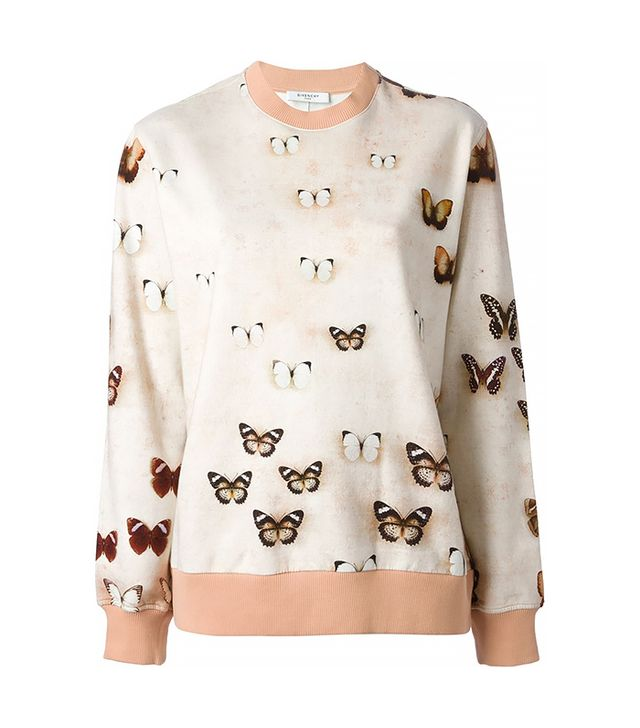 Givenchy Butterfly Print Sweater