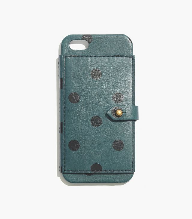 Madewell Leather Wallet Case for iPhone 5 & 5s