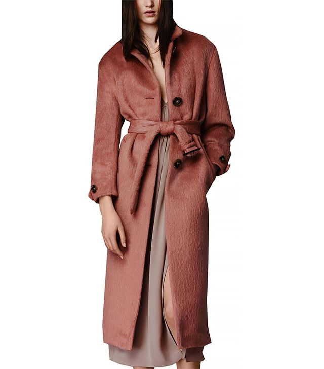 Burberry Brushed Wool Topcoat