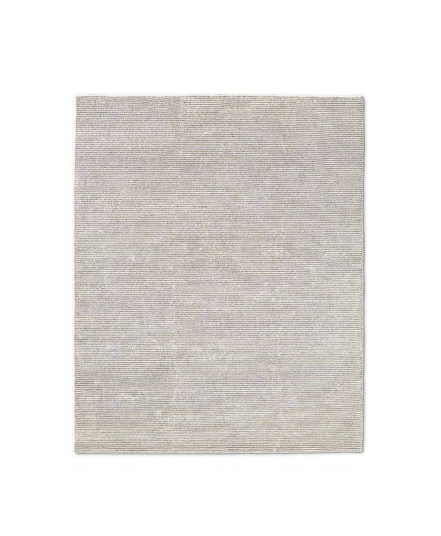 Restoration Hardware Ribbed Distressed Wool Rug