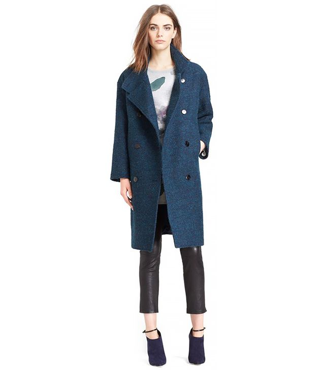 Mcginn Capuline Double Breasted Oversized Coat