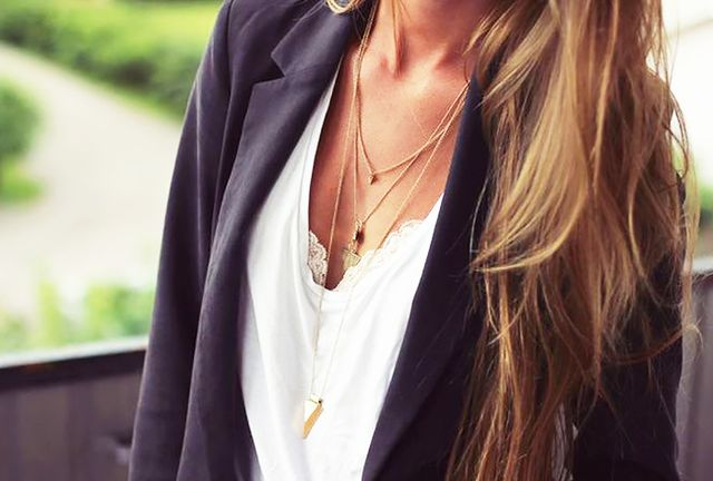 7. You're prone to getting quite tangled up in your layered necklaces.