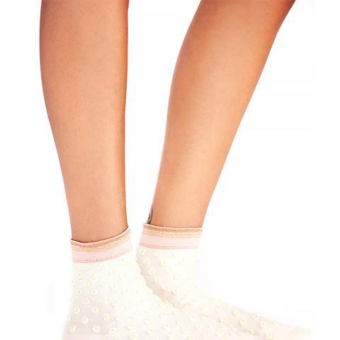 Glitter Dot Anklets