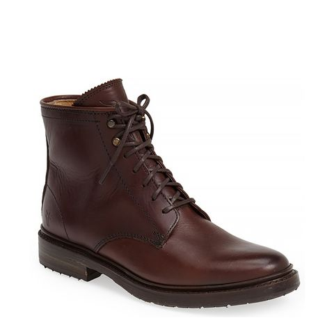 James Lug Lace-Up Boots