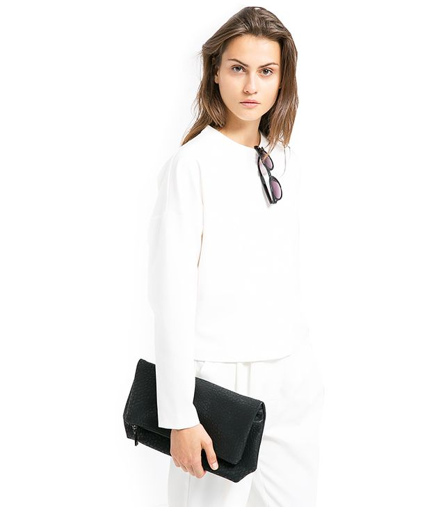 Mango Shoulder Seam Sweatshirt