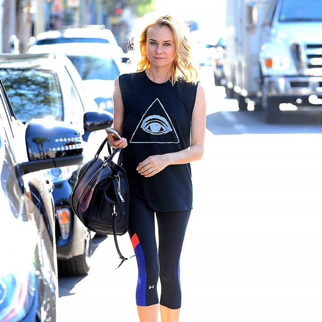 Gym Style 101: What Alexa Chung, Diane Kruger & More Are Wearing