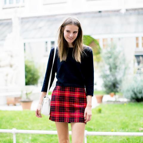 Street Style Mini Skirt